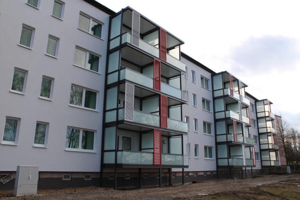 Barrierearme Wohnungen in der Konrad-Martin-Straße in Leinefelde