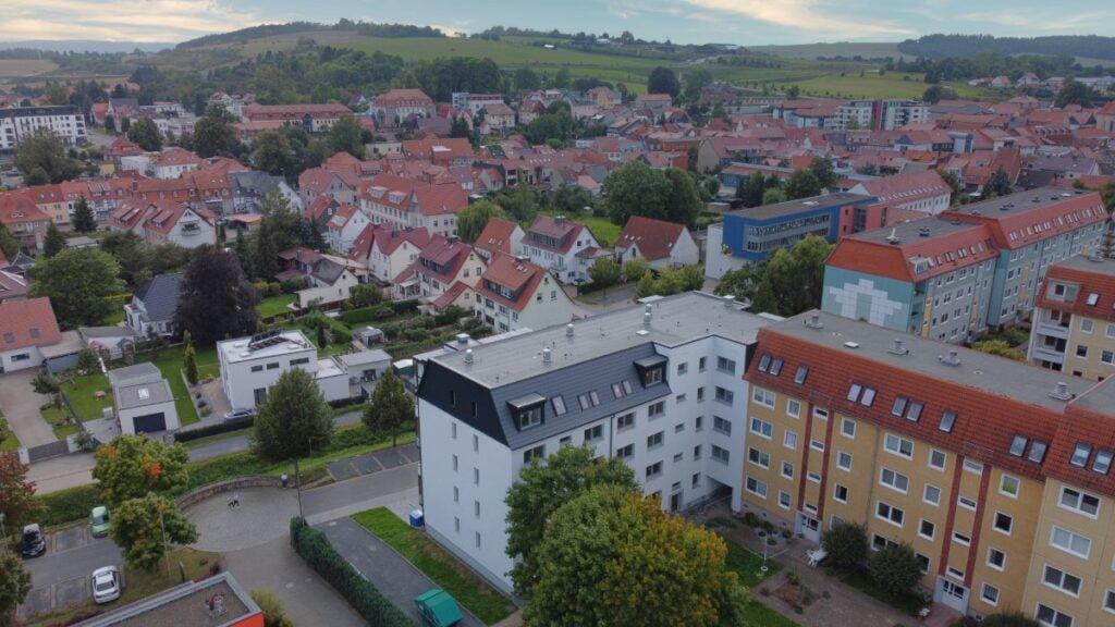 Barrierefreies Wohnen in der Tom-Mutters-Straße 1-3 in Worbis